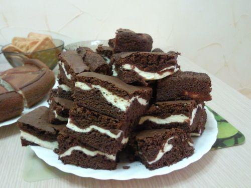 Як приготувати шоколадно-сирні тістечка